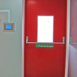 fire application door