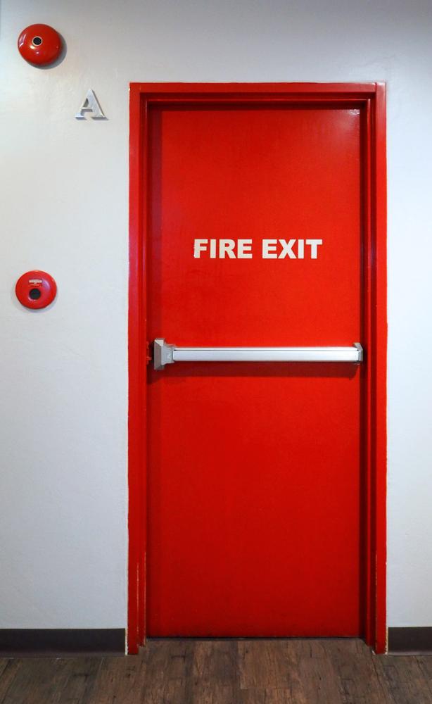 fire application door